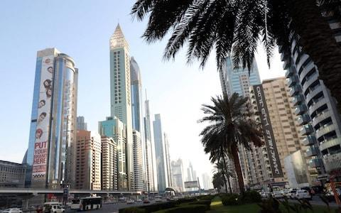 <span>Dubai, with its smart hotels, first-class shopping and sunshine, is a popular destination with Britons despite strict laws on personal morality</span> <span>Credit: Karim Sahib/AFP </span>