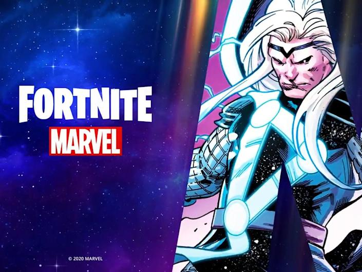 Epic Games are crossing over with Marvel Comics for the new season of 'Fortnite': Marvel