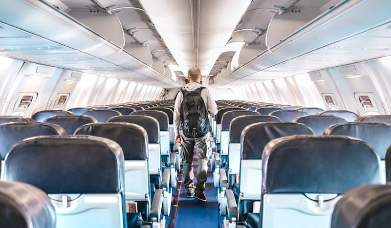 Airlines that are leaving key seats open say the measure is designed to reassure the public of their safety in the air. (Getty Images)