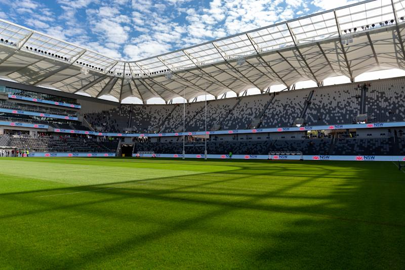 Sydney's Bankwest stadium, with a capacity of 30,000, would be able to accomodate 7,500 people for example. Source: AAP