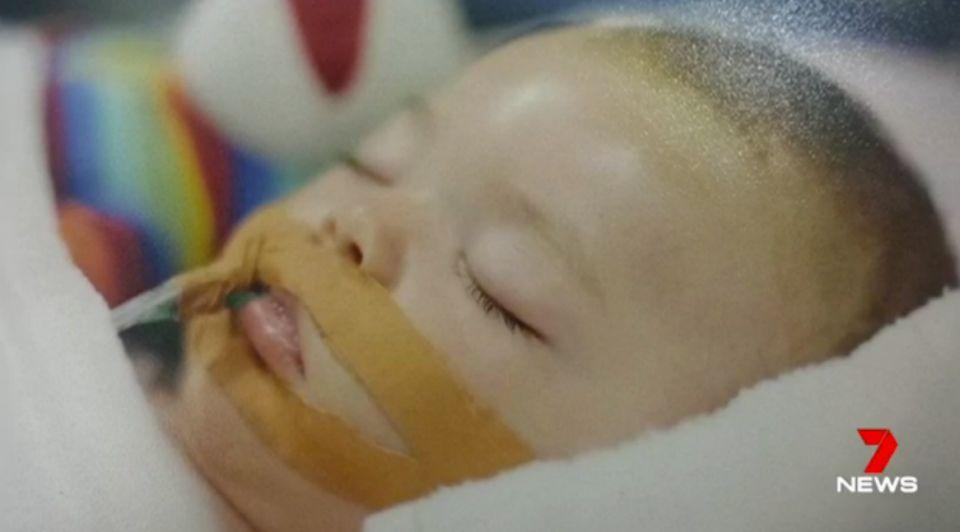Bobby was found by his aunt sobbing in his sleep and limp. Photo: 7 News