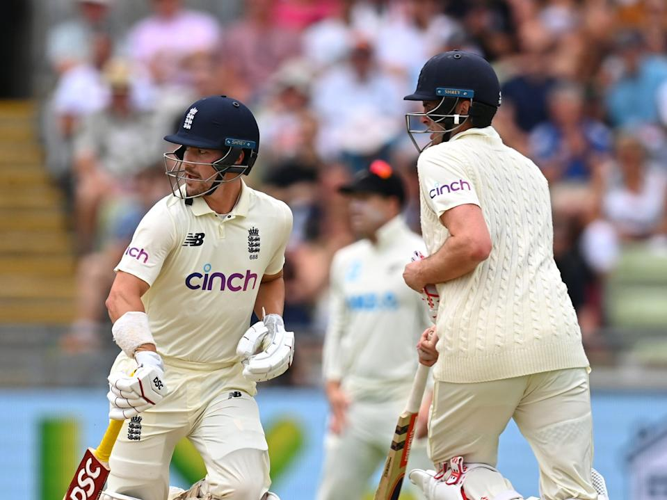 Rory Burns (left) and Dom Sibley got England off to a good start (Getty Images)