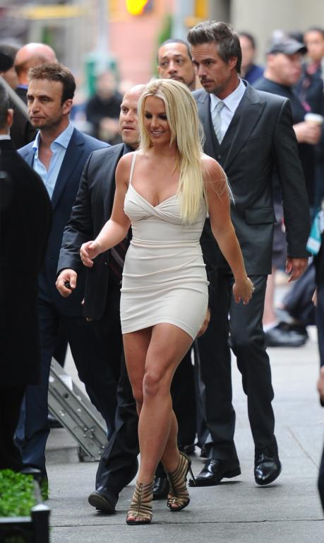 Britney Spears out in New York