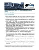 Paramount Resources Ltd. Reports 2018 Annual Results and Provides 2019 Guidance (CNW Group/Paramount Resources Ltd.)
