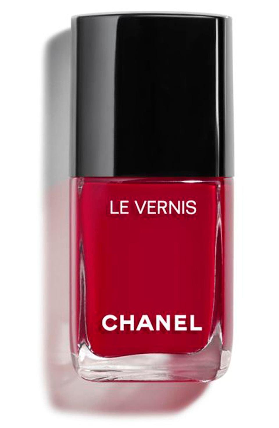 <p><span>Chanel Le Vernis Longwear Nail Color in Pirate</span> ($28)</p>