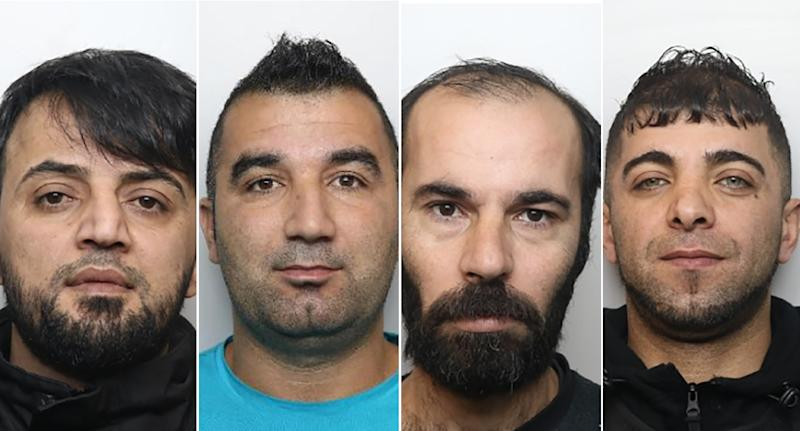Four men have been convicted of rape. (PA Images/South Yorkshire Police)