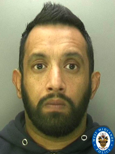 """Singh has been jailed for 14 months after """"abusing"""" his position as a police officer. (West Midlands Police)"""