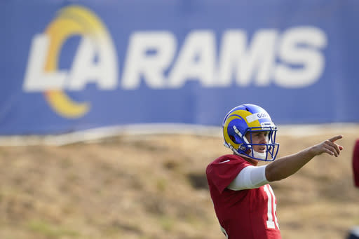 Goff boosts athleticism, hopes to be more elusive with Rams