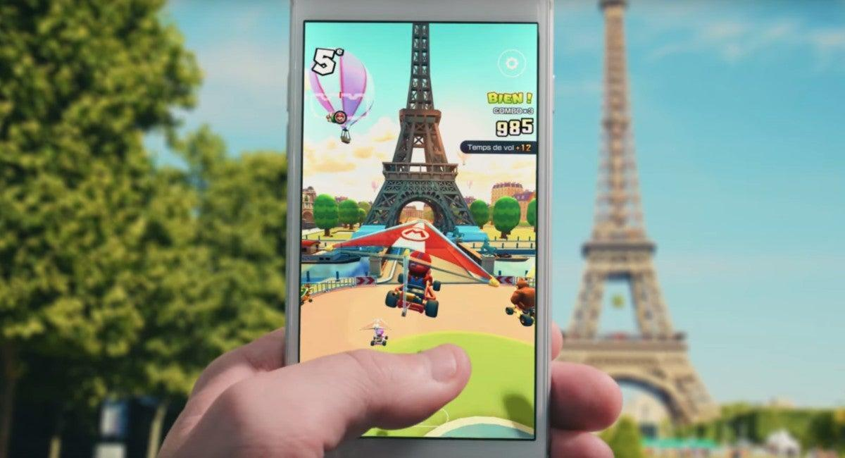 Rainbow Road is in Your Pocket! Free Mario Kart Hits iPhone