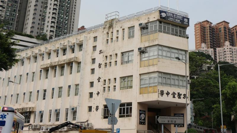 Contrite Hong Kong educator demoted but keeps job after sharing acrostic poem that wished death on city police, their families