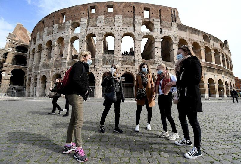 Coliseo de Roma. (Photo: EFE)