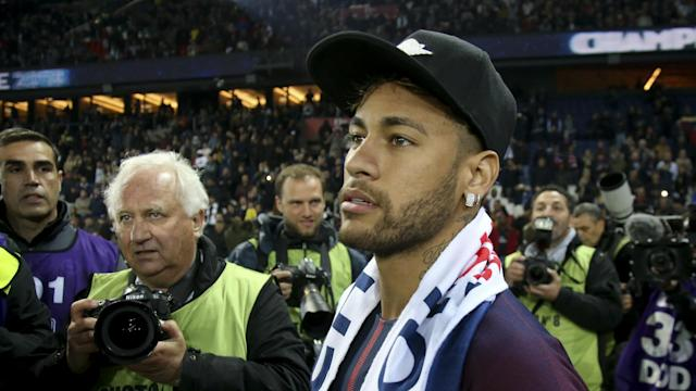PSG president Nasser Al-Khelaifi says he has been told by Neymar's father that the Brazil star is tiring of rumours about his future.