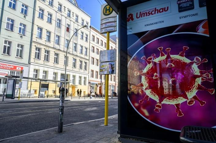 Forget the empty streets and reminders of the deadly COVID-19 virus with an online dance party led by a celebrity DJ (AFP Photo/John MACDOUGALL)
