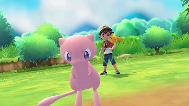 'Pokémon Let's Go Pikachu' and 'Evee' are coming this year.