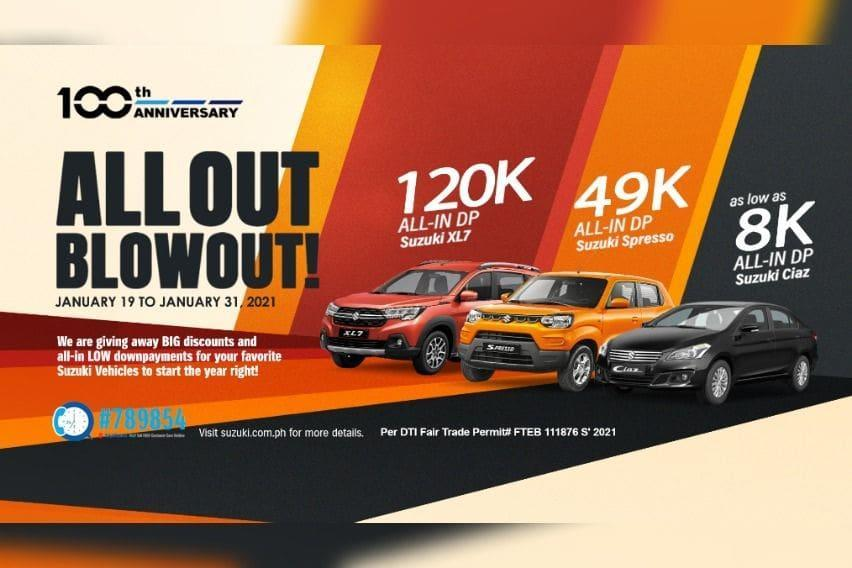 Suzuki All-Out Blowout