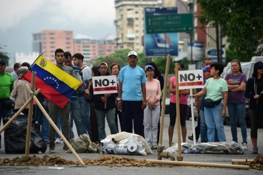 Venezuela opposition gears for huge rally against plan to rewrite constitution