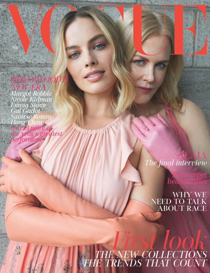 Fellow Aussie actress Nicole Kidman posed in the same photoshoot. Source: Vogue