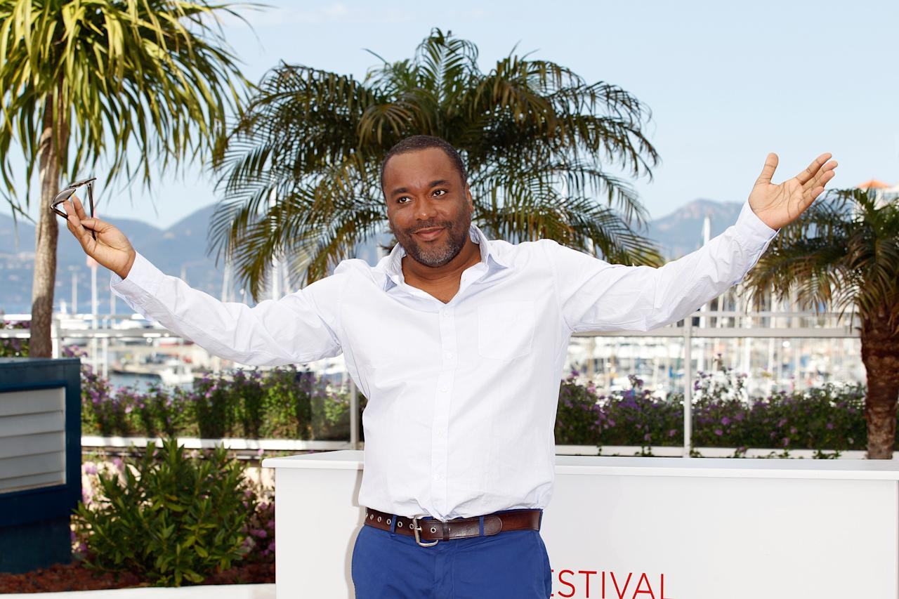 "CANNES, FRANCE - MAY 24:  Director Lee Daniels attends the ""The Paperboy"" photocall during the 65th Annual Cannes Film Festival at Palais des Festivals on May 24, 2012 in Cannes, France.  (Photo by Andreas Rentz/Getty Images)"