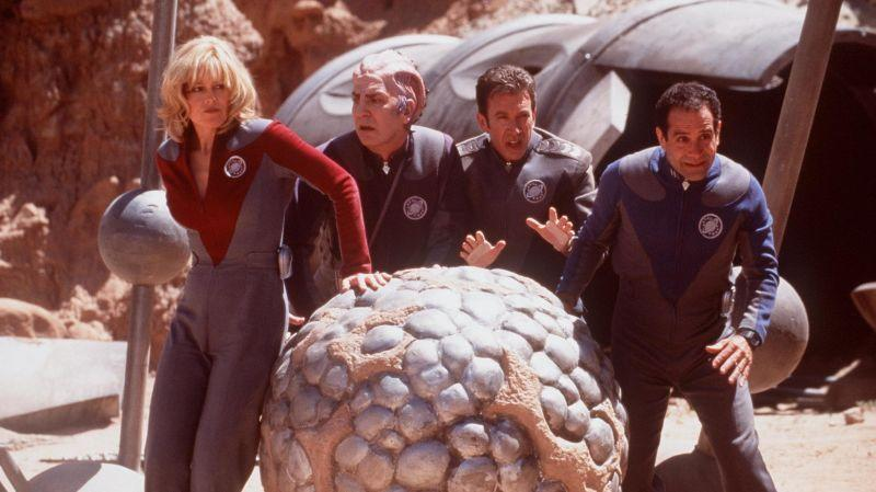 Fortunately, this didn't stop the Thermians from receiving all those Galaxy Quest reruns.