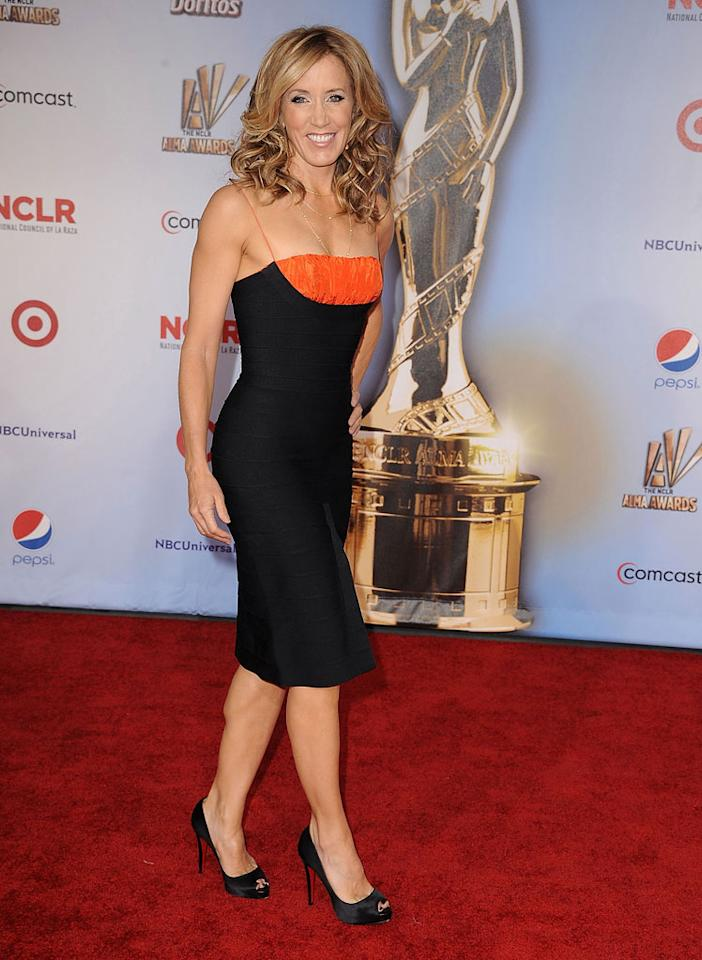 "As did a super svelte Felicity Huffman. Looking good, girl! Steve Granitz/<a href=""http://www.wireimage.com"" target=""new"">WireImage.com</a> - September 10, 2011"