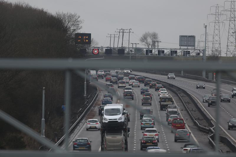 The M1 motorway was reopened before 9am on Christmas day (Photo: PA Archive/PA Images)