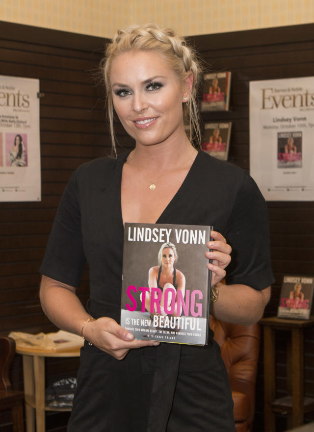 <p>Vonn is a New York Times best selling author. Her book, Strong Is The New Beautiful, was published in 2016. </p>