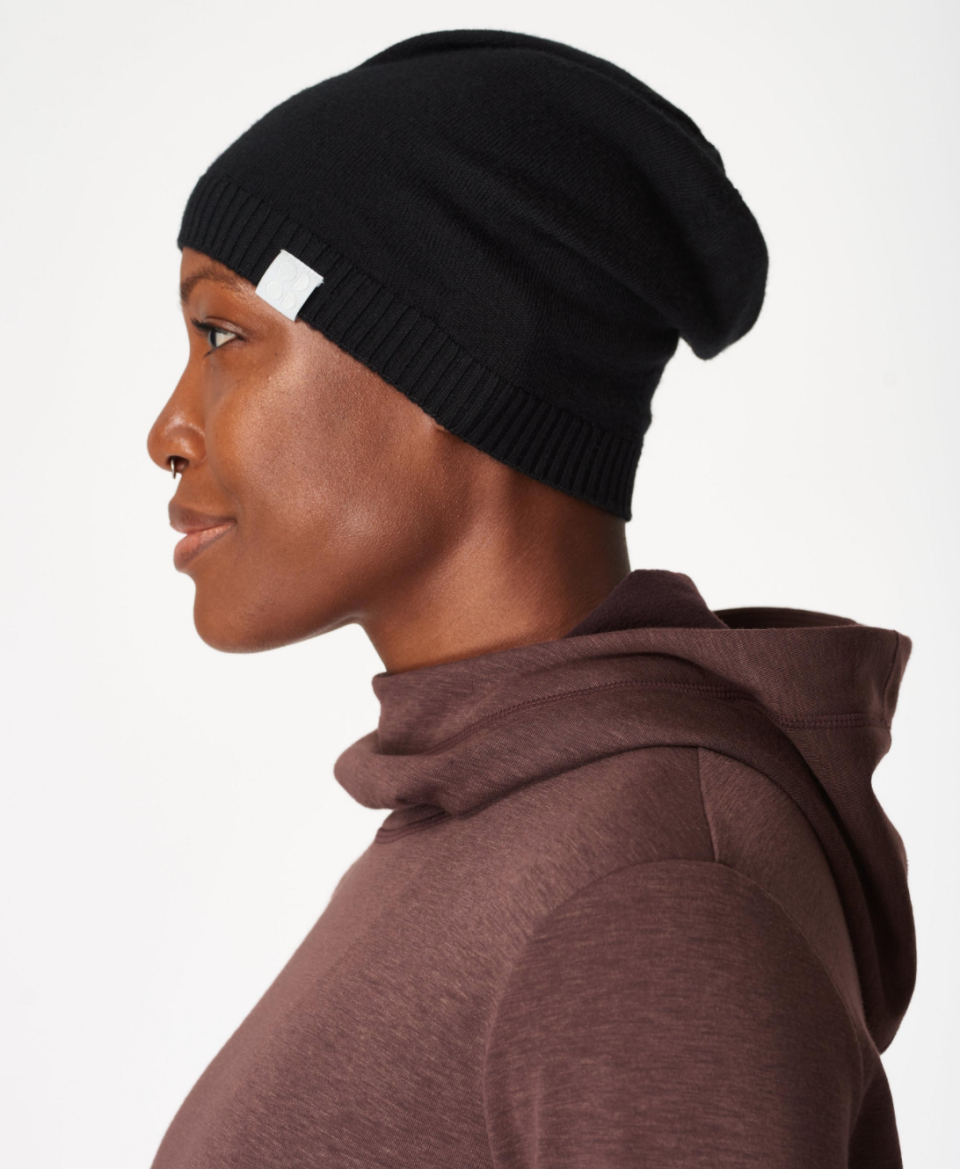 Sweaty Betty Rapid Wool Beanie in Black
