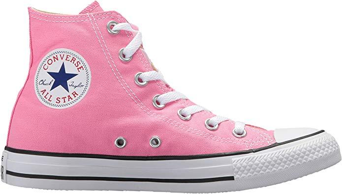 Converse Chuck Taylor All Star High Top Sneaker in Pink (Credit: Amazon)