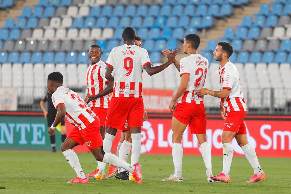 <p>Almeria are out for playoff glory</p> (LaLiga)