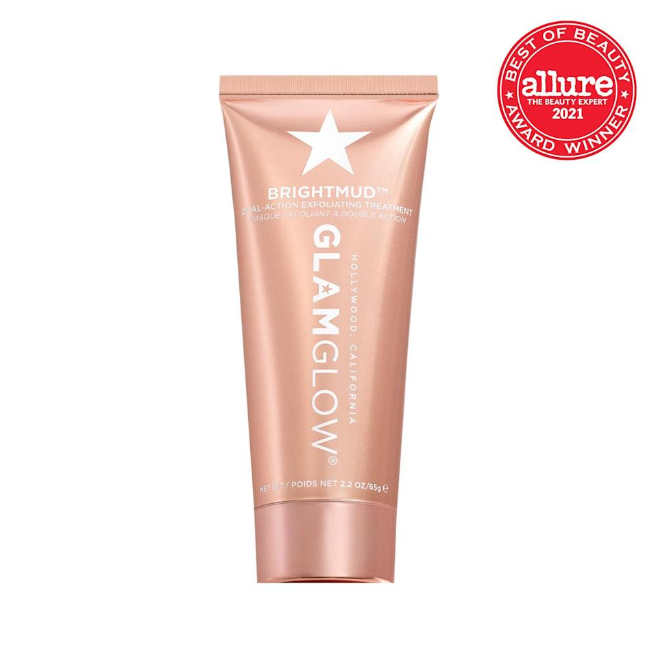 A real glow-getter, <strong>GlamGlow Brightmud Dual Action Exfoliating Treatment</strong> fits every imaginable brightener (AHAs, BHAs, vitamin C, pumice particles) into one elegant formula.