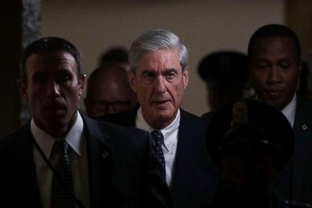 PHOTO: Special counsel Robert Mueller leaves after a closed meeting with members of the Senate Judiciary Committee June 21, 2017 at the Capitol in Washington. (Alex Wong/Getty Images, FILE)