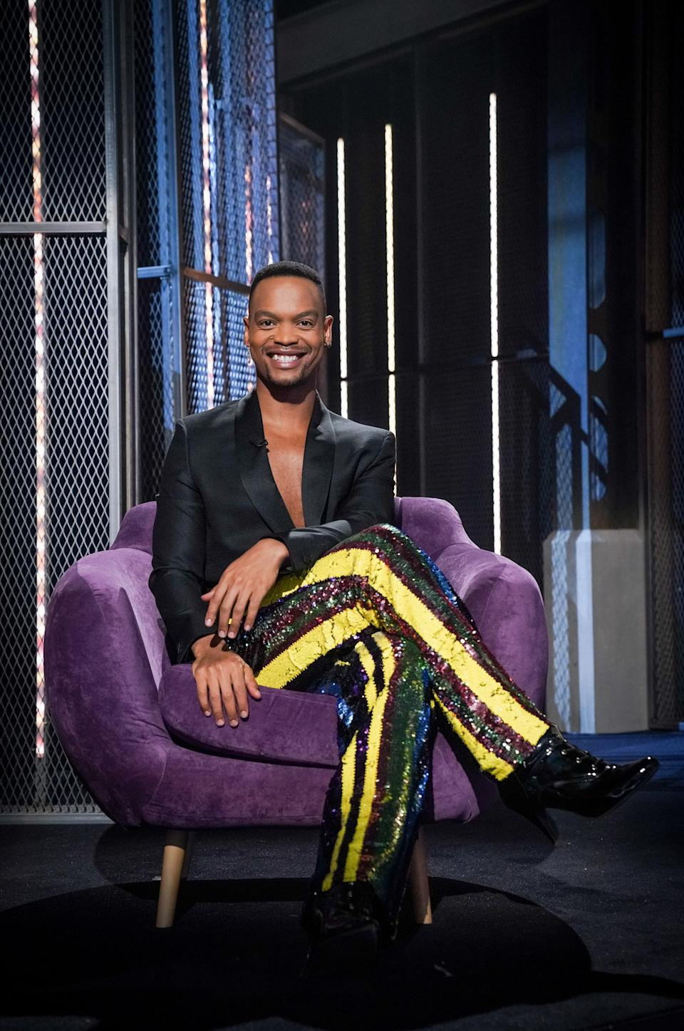 WARNING: Embargoed for publication until 09:00:01 on 12/10/2021 - Programme Name: I Like The Way U Move - TX: n/a - Episode: I Like The Way U Move ep6 (No. 6) - Picture Shows:  Johannes Radebe - (C) BBC - Photographer: Kieron McCarron