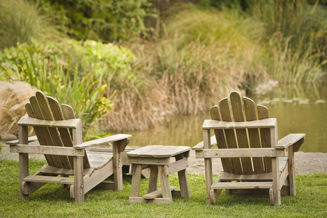 """<p>There's an argument to be made that <a href=""""https://www.countryliving.com/gardening/garden-ideas/g1336/porch-and-patio-decorating-ideas/"""" target=""""_blank"""">the porch</a> is the best """"room"""" in the house—no matter the season. What makes it so great? You could argue maybe it's the <a href=""""https://www.countryliving.com/gardening/garden-ideas/g27092607/low-maintenance-flowers/"""" target=""""_blank"""">garden views</a>. Some might attribute it to super cute <a href=""""https://www.countryliving.com/home-design/decorating-ideas/g2449/antique-flags-home-decor/"""" target=""""_blank"""">porch decor</a>. Others would point out that there's no better place to keep tabs on the comings and goings of the neighbors. And yes, those are all very good reasons, but for us, it's all about the <a href=""""https://www.countryliving.com/home-design/g4654/cozy-chairs/"""" target=""""_blank"""">comfortable seating</a>—specifically, the Adirondack chair.  What's so special about an Adirondack chair, you ask? Well, a good one is always comfy—the angles make for the perfect amount of backwards lean. That means you can sit for hours without your legs falling asleep. While fancy models in teak go for around $700 a pop, lower priced chairs in a variety of weather-friendly materials abound. We've done all of the legwork for you—from folding to plastic, we've rounded up the very best Adirondacks on the internet. Once you find the right fit for you and your porch or patio, feel free to fire up a porch-perfect playlist, pour the iced tea, and stay vigilant in your quest to be the eyes and ears of the neighborhood.</p>"""