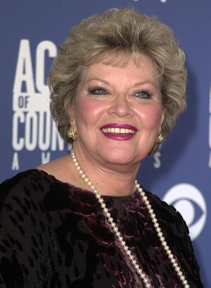 Patti Page during The 36th Annual Academy of Country Music Awards - Arrivals at Universal Amphitheater in Universal City, California, United States. (Photo by SGranitz/WireImage)