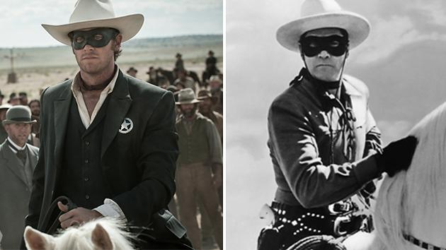 Armie Hammer and Clayton Moore