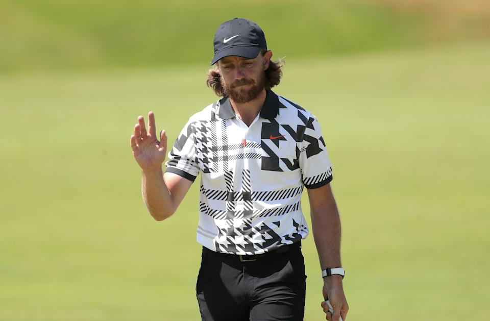 Tommy Fleetwood admitted a hairdryer is not the secret behind his locks (Richard Sellers/PA) (PA Wire)