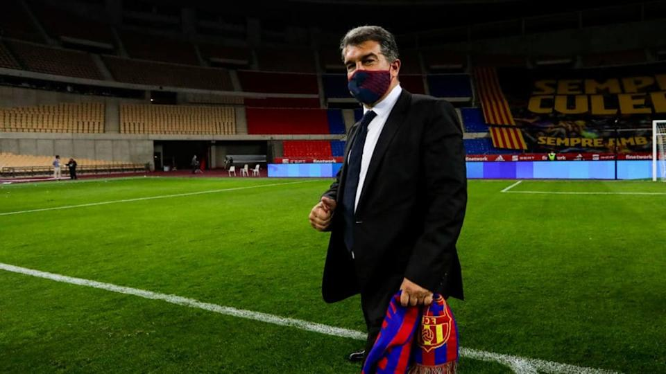 Joan Laporta | Soccrates Images/Getty Images