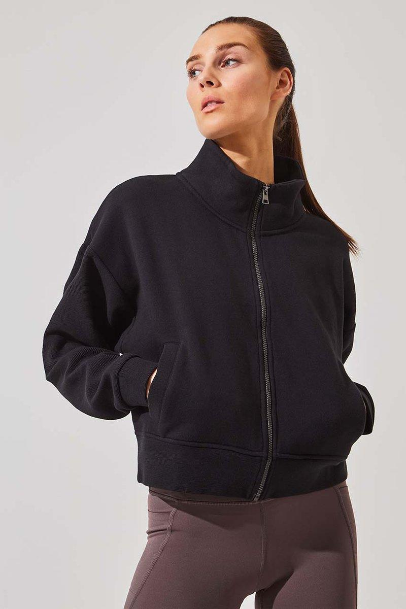 Strategy Organic Cotton Zip-up. Image via MPG Sport.