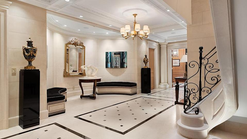 The entryway - Credit: Photo: Courtesy of The Corcoran Group