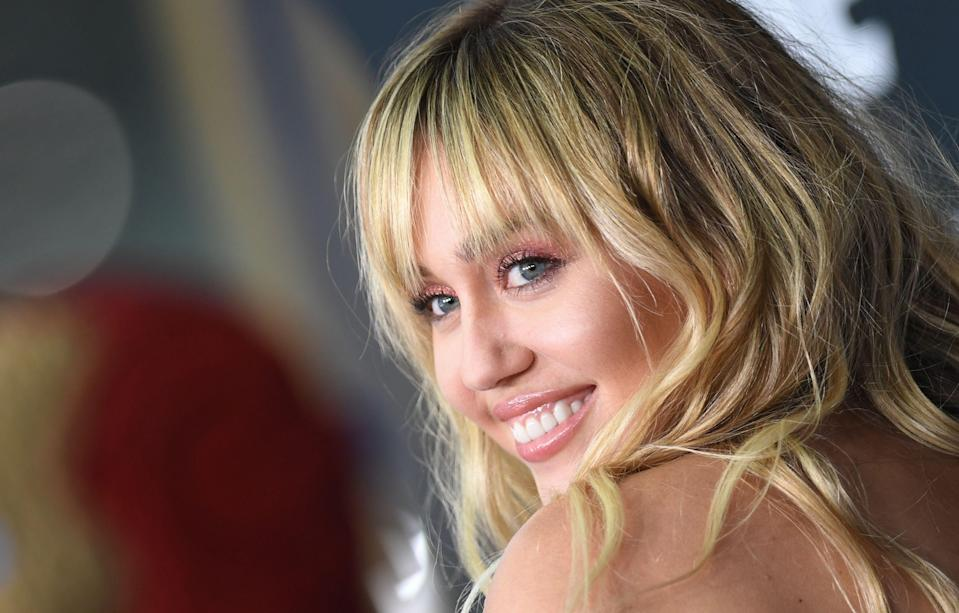 Miley Cyrus, photographed at the world premiere of 'Avengers: Endgame' in April 2019, has been accused of using artwork without consent [Photo: Getty]