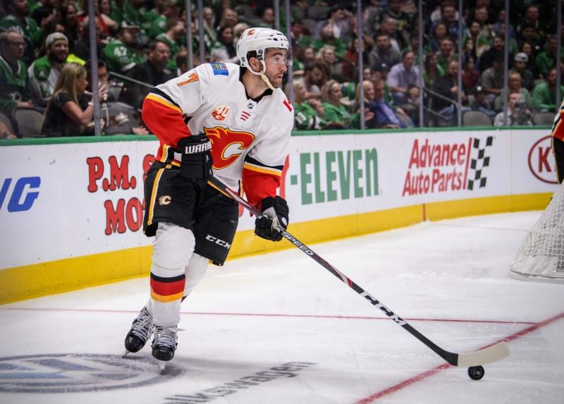 Flames D Brodie to return 11 days after collapsing