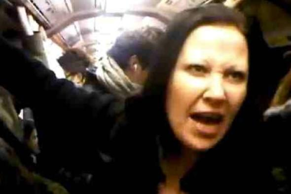 'Racist' Tube rant woman jailed for five months