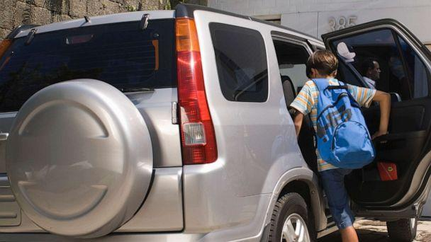 PHOTO: A child gets into a car. (STOCK PHOTO/Pm Images/Getty Images)
