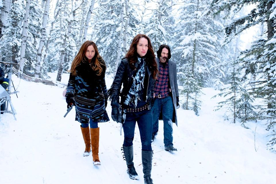 """<p>Fantasy and sci-fi shows still sometimes struggle when it comes to female representation, but that's not the case with <strong>Wynonna Earp</strong>. This fast-paced, fun show includes LGBTQ+ characters, a hero with a unique backstory, and a whole lot of demon hunting. This show may be flying under the radar, but trust us, you need Wynonna in your life. </p> <p>Watch <a href=""""https://www.netflix.com/title/80100105"""" class=""""link rapid-noclick-resp"""" rel=""""nofollow noopener"""" target=""""_blank"""" data-ylk=""""slk:Wynonna Earp""""><strong>Wynonna Earp</strong></a> on Netflix now.</p>"""