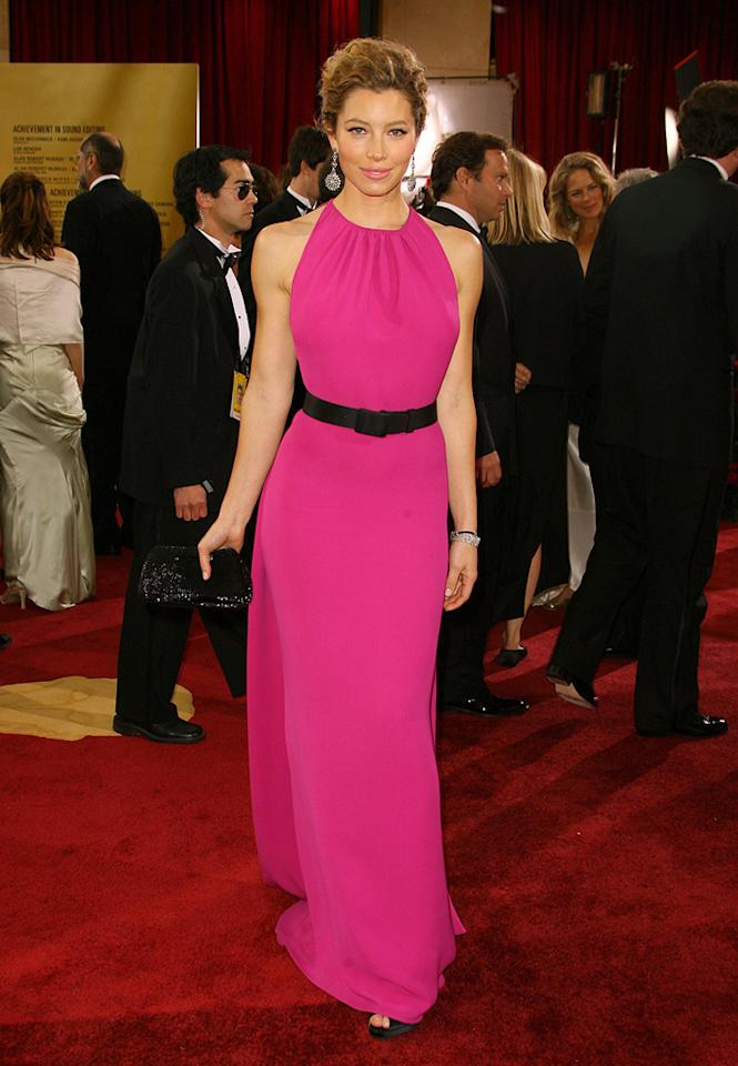 BEST: Jessica Biel at the 79th Annual Academy Awards - 02/25/2007