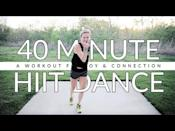 "<p>Need a pick me up? Jamie's 40-minute feel-good dance workout will do that and more. With tracks ranging from Pitbull to Meghan Trainor and Kygo x Whitney Houston, you'll be feeling better in no time. </p><p><a href=""https://www.youtube.com/watch?v=k_mze-d6IiE&ab_channel=TheStudiobyJamieKinkeade"" rel=""nofollow noopener"" target=""_blank"" data-ylk=""slk:See the original post on Youtube"" class=""link rapid-noclick-resp"">See the original post on Youtube</a></p>"