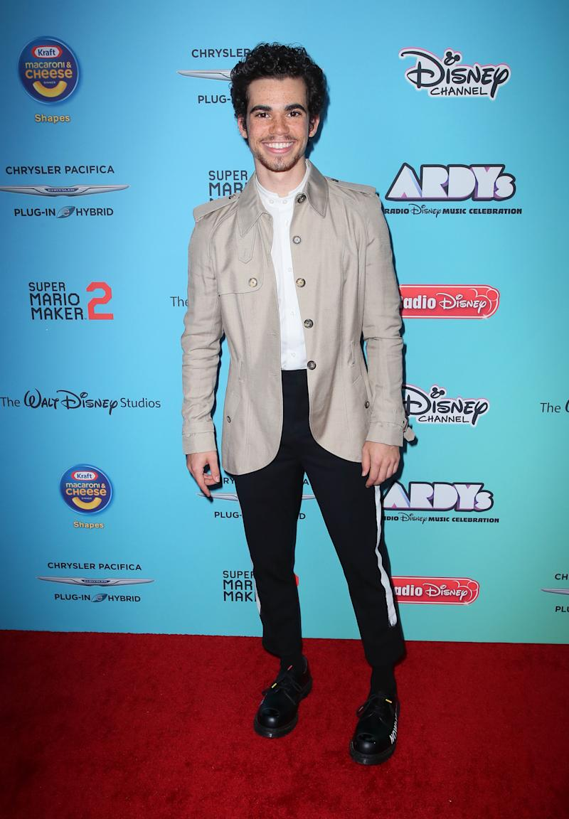 STUDIO CITY, CALIFORNIA - JUNE 16: Cameron Boyce attends the 2019 Radio Disney Music Awards at CBS Studios - Radford on June 16, 2019 in Studio City, California. (Photo by David Livingston/WireImage)