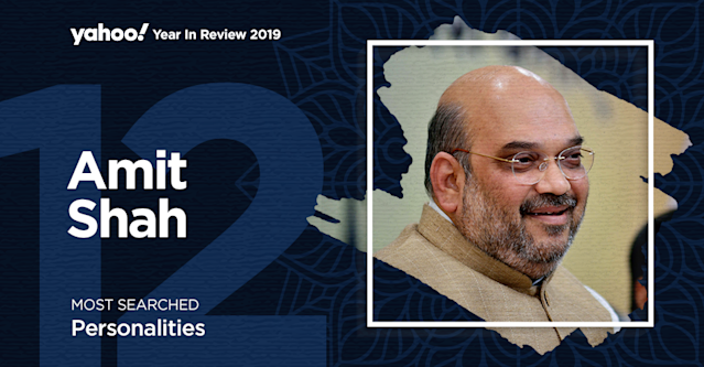 No prizes for guesses why the 'Chanakya' of Indian politics is one of the most searched personalities. The frontman of Bharatiya Janata Party, Amit Shah aggressively and confidently secured a landslide win for his party in the 2019 elections. Under his guidance the BJP has been invincible at the centre and also made inroads into non-BJP ruling states. He's the opposition's envy and the party's pride.