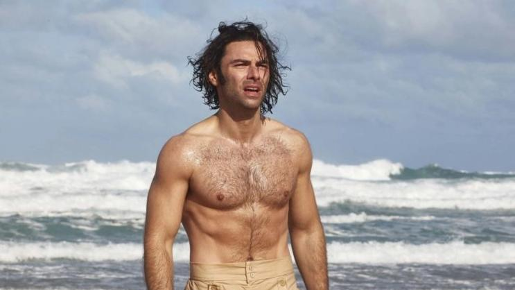 Aidan Turner as the title character in the BBC historical drama 'Poldark'. (Credit: BBC)