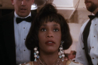 <p>Her chin-grazing bob was a standout moment, but Whitney Houston's piecey bangs are what everyone tried to replicate after this movie—hopefully with the help of a salon visit and not a DIY scissors session at home. </p>